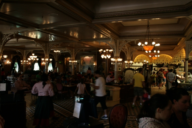 Inside Plaza Garden Restaurant,