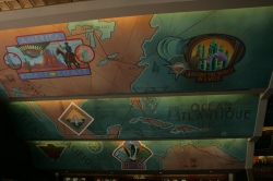 Wall/ceiling murals at...