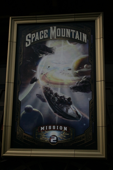 Space Mountain - Mission 2 - Poster,