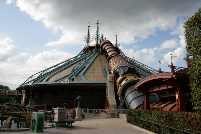 Space Mountain in all its glory,