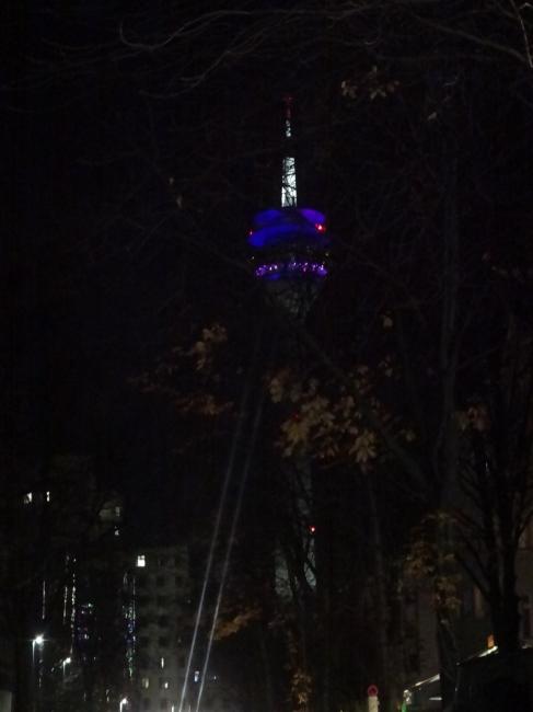 Funkturm, Dusseldorf's hallmark